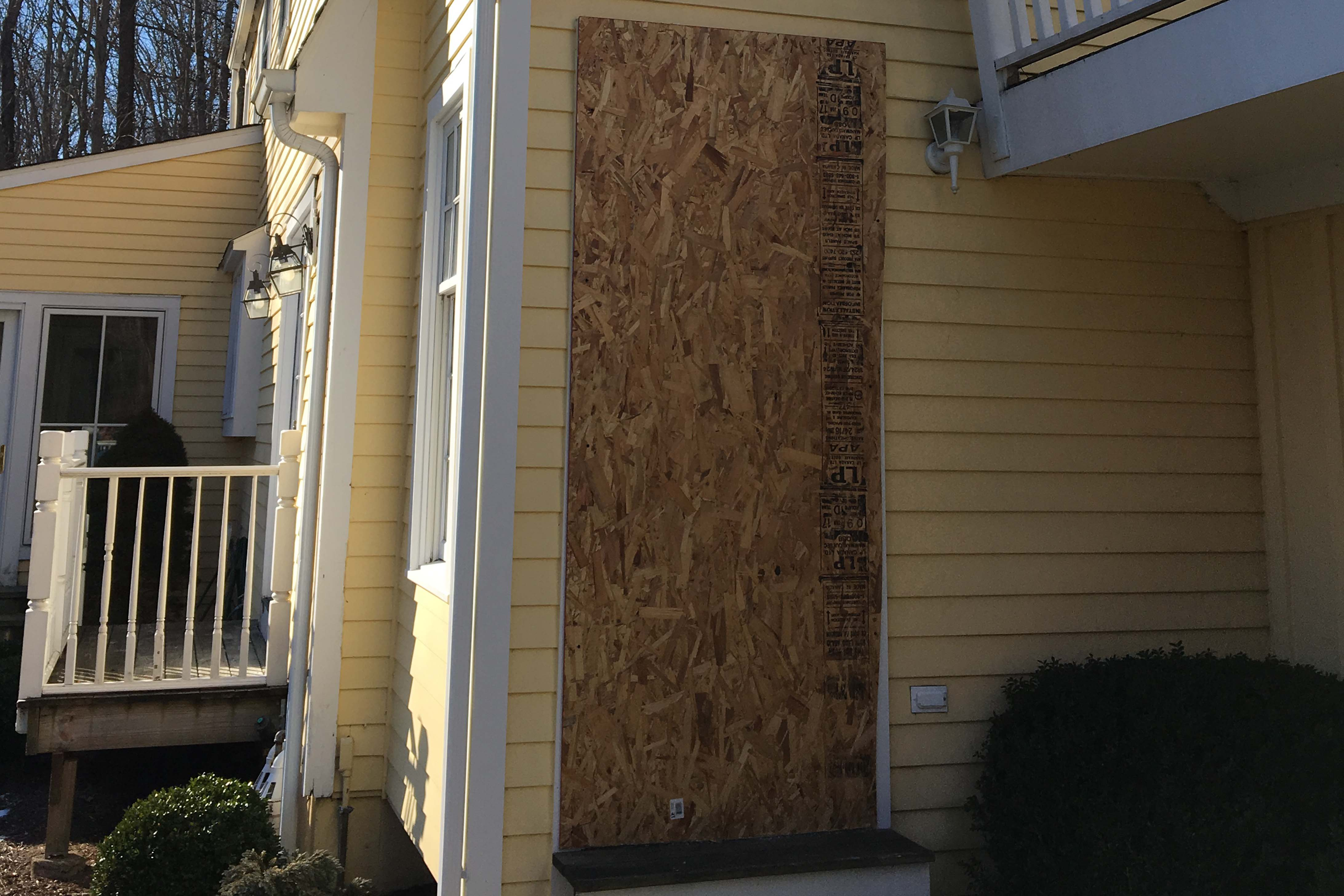 Fire Damage Board ups repair in CT